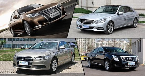 四缸发动机新潮流 2.0T中大型豪华轿车推荐