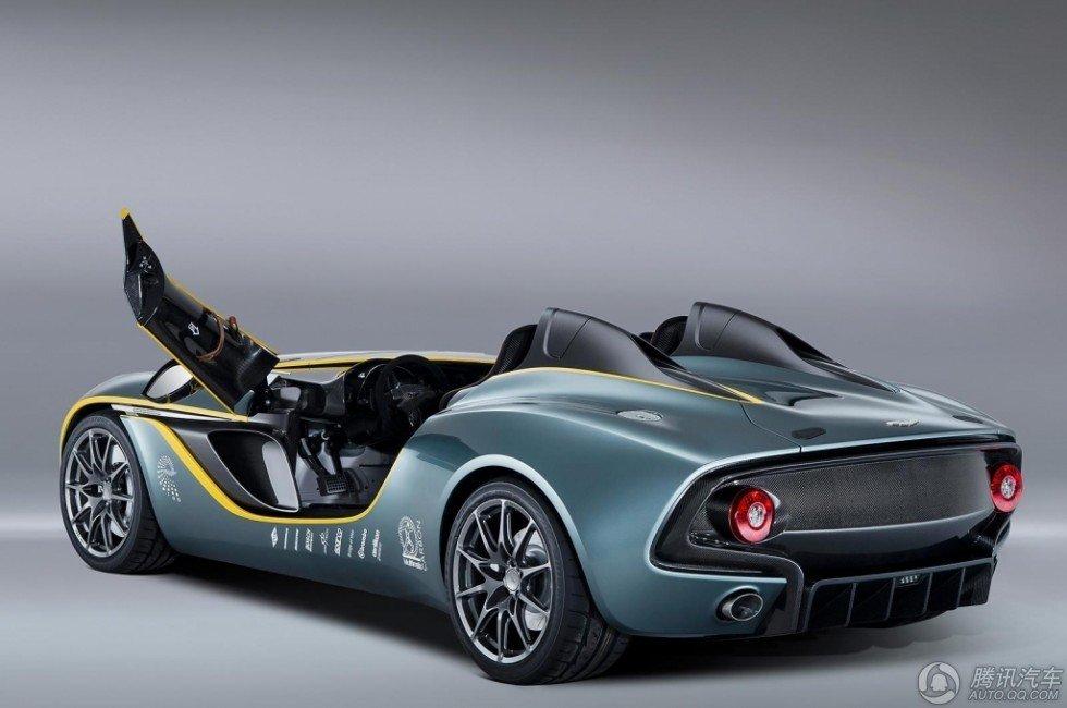 阿斯顿马丁发布CC100概念车