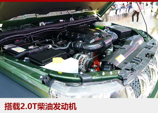 柴油北京BJ40L将1月21日上市 扭矩更大