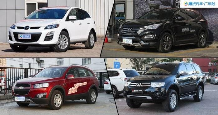 直降7万元 4款合资SUV最低15.98万