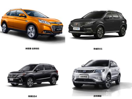 中国汽车品牌腾飞 四款紧凑型SUV谁更优?