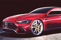 AMG GT Concept官图曝光 动感溜背风