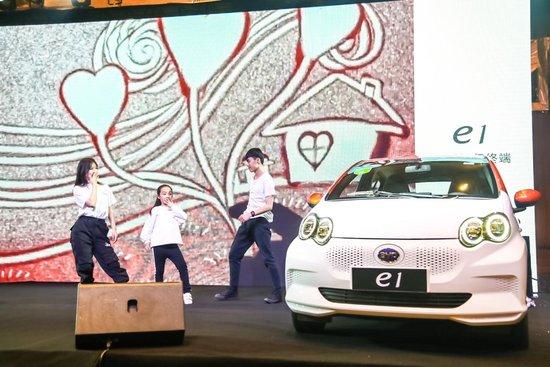 纯电实力派 e起来电——比亚迪e1登陆济宁,首站交付65台