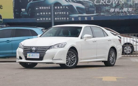 [腾讯行情]济南 丰田皇冠店内让利2.5万元
