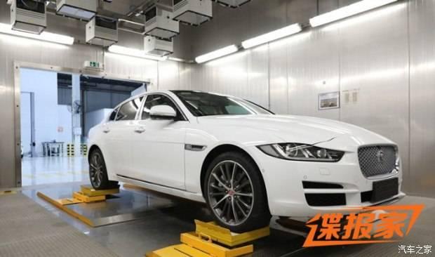 将于年内正式投产 捷豹XEL实车曝光