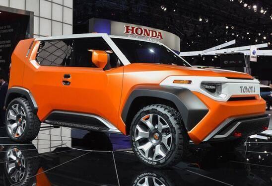 丰田全新小型SUV曝光 或命名为TJ Cruiser