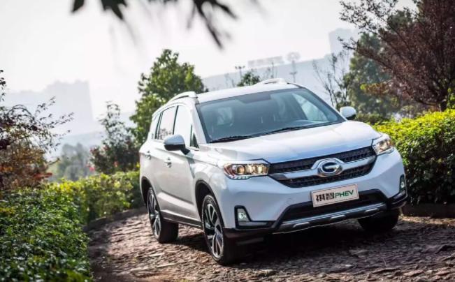 续航600公里17.39万元 广汽首款合资新能源SUV上市