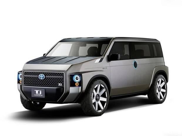 丰田放大招 新款跨界SUV堪比坦克