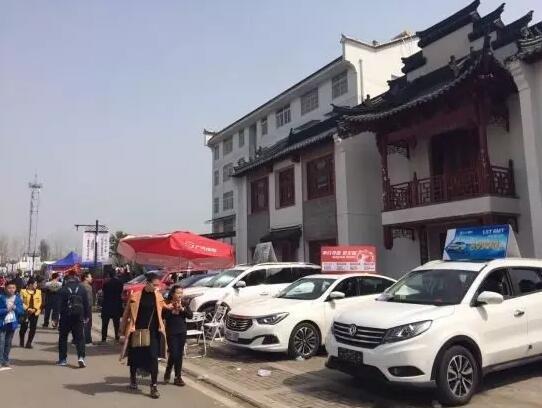 竹叶山车世界:日出三月里 车约桃花村
