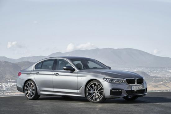 全新BMW 5系全球首发 亮相2017年北美国际车展