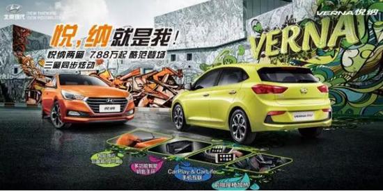 北京现代悦纳RV活力上市 售价7.88-10.88万元