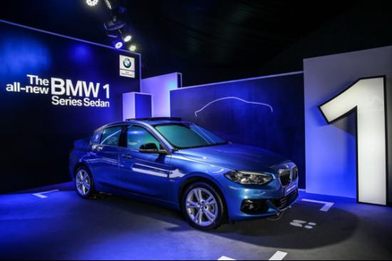 引领年轻新风尚 全新BMW 1系亮相浙江杭州