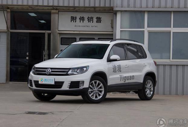 [腾讯行情]金华 途观目前购车优惠3.8万元