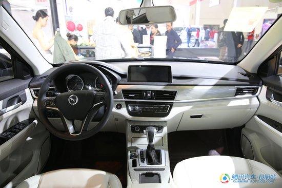 汉腾X5登陆昆明车展 开启越级驾乘新体验