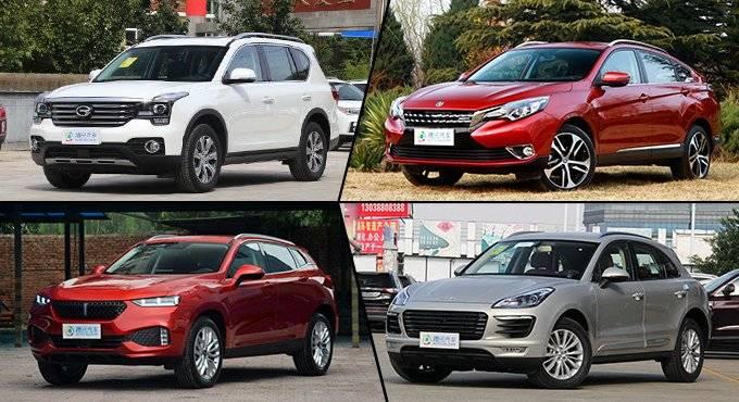 各自出彩 精选四款自主品牌中型SUV