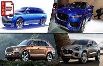 五款豪华品牌首款SUV前瞻 钱都不是事儿