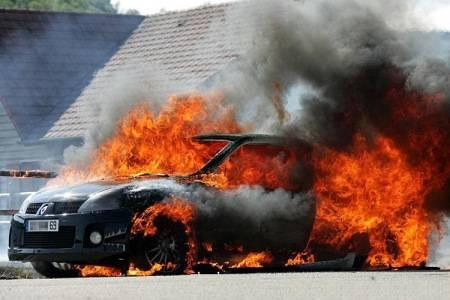 常见汽车火灾原因及防火要求