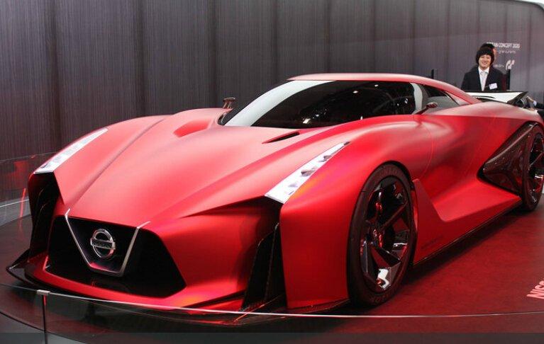 新GTR雏形车 百公里加速2秒欲秒杀威龙