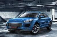 中国首款轿跑SUV众泰 SR9将本月底预售