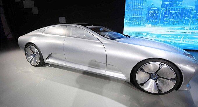 千年一遇!价值10亿的奔驰概念车