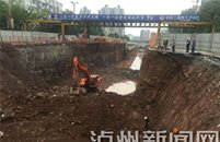 泸州沱三桥下穿隧道塌方是谣言