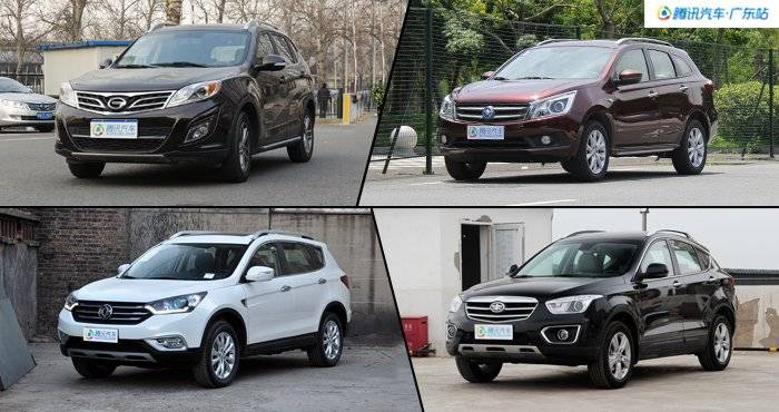 合资品质自主价 4款10万级SUV推荐