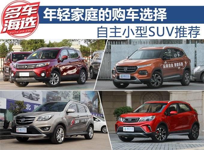 年轻家庭的购车选择 自主小型SUV推荐