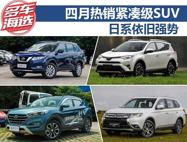 日系仍强势 四月热销合资紧凑级SUV盘点