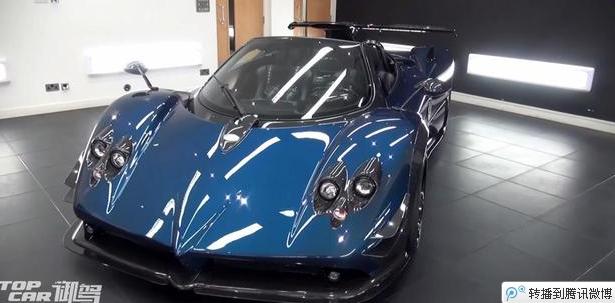 帕加尼限量打造760 Roadster 全球仅一台