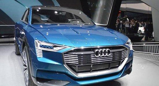 奥迪首款纯电动SUV预计2018年正式上市