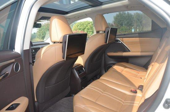 王者风范 试驾雷克萨斯RX45h四驱尊贵版