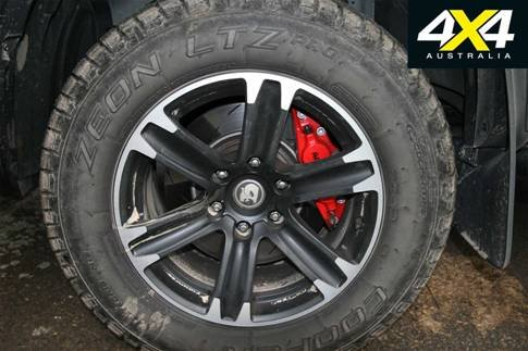 2018 HSV庫羅德SportsCat裝載固鉑輪胎