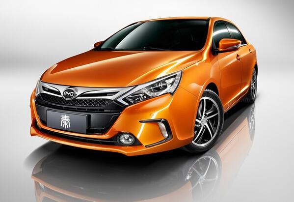 比亚迪电动汽车多少钱?   比亚迪e6纯电动车 售价36.98万高清图片
