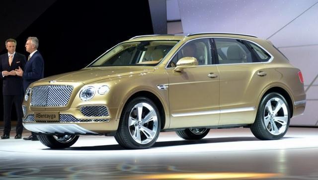 宾利旗下首款SUV添越将10月23日国内首发