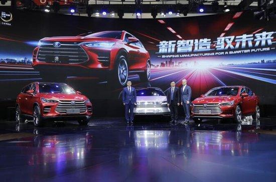 全面进入造车新时代 比亚迪汽车强势出击北京车展