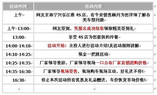 兴弘江淮厂家4月23日举办大型团购会