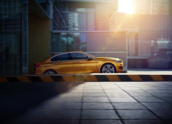 全新BMW 1系运动轿车迎来上市倒计时