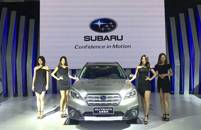 斯巴鲁以精锐阵容出击 2017南宁国际汽车展览会