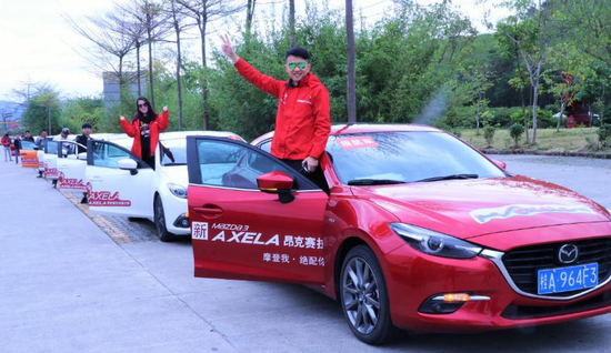 新Mazda3 AXELA昂克赛拉试爱之旅广西站圆满结束