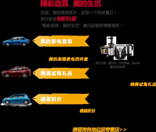 买启辰T70/D50/R50/R50X/R30等全车系 送美的高端家电