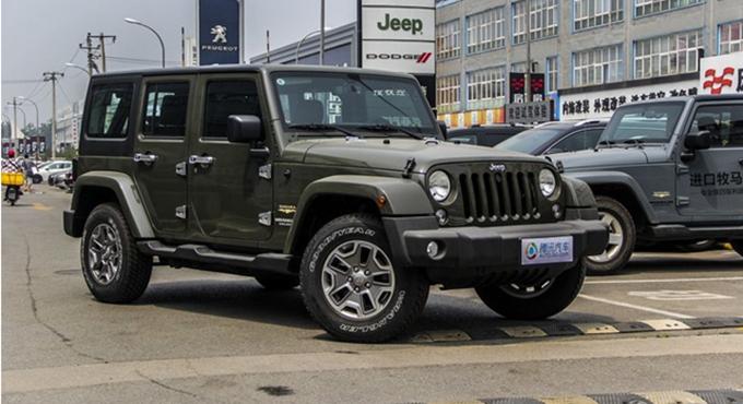 南宁 Jeep牧马人优惠4.03万元