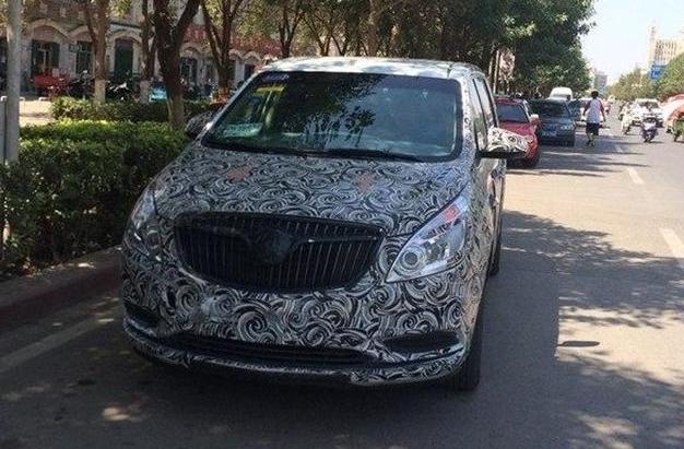 第二代GL8改款车型将下月上市 前脸变化大