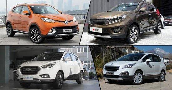 性价比是王道 15万元热门城市SUV推荐