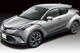 造型独特 丰田全新C-HR海外上市