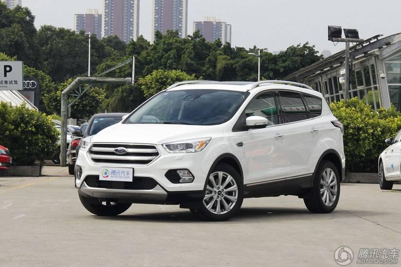 [腾讯行情]青岛 福特翼虎购车优惠3.3万元