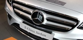 新奔驰E级长轴版实拍