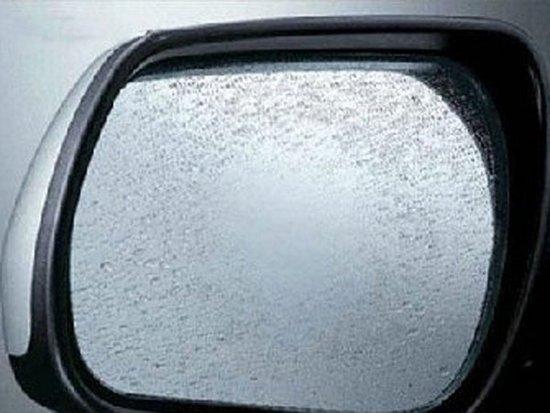 一块肥皂 一点洗洁精 汽车后视镜不起雾