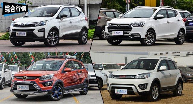 比亚迪元优惠达3000元 推荐自主小型SUV