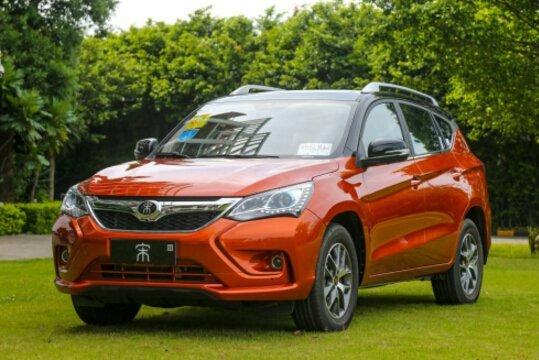 9月比亚迪将推两款燃油自动挡SUV