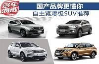 国产品牌更懂你 自主紧凑级SUV推荐